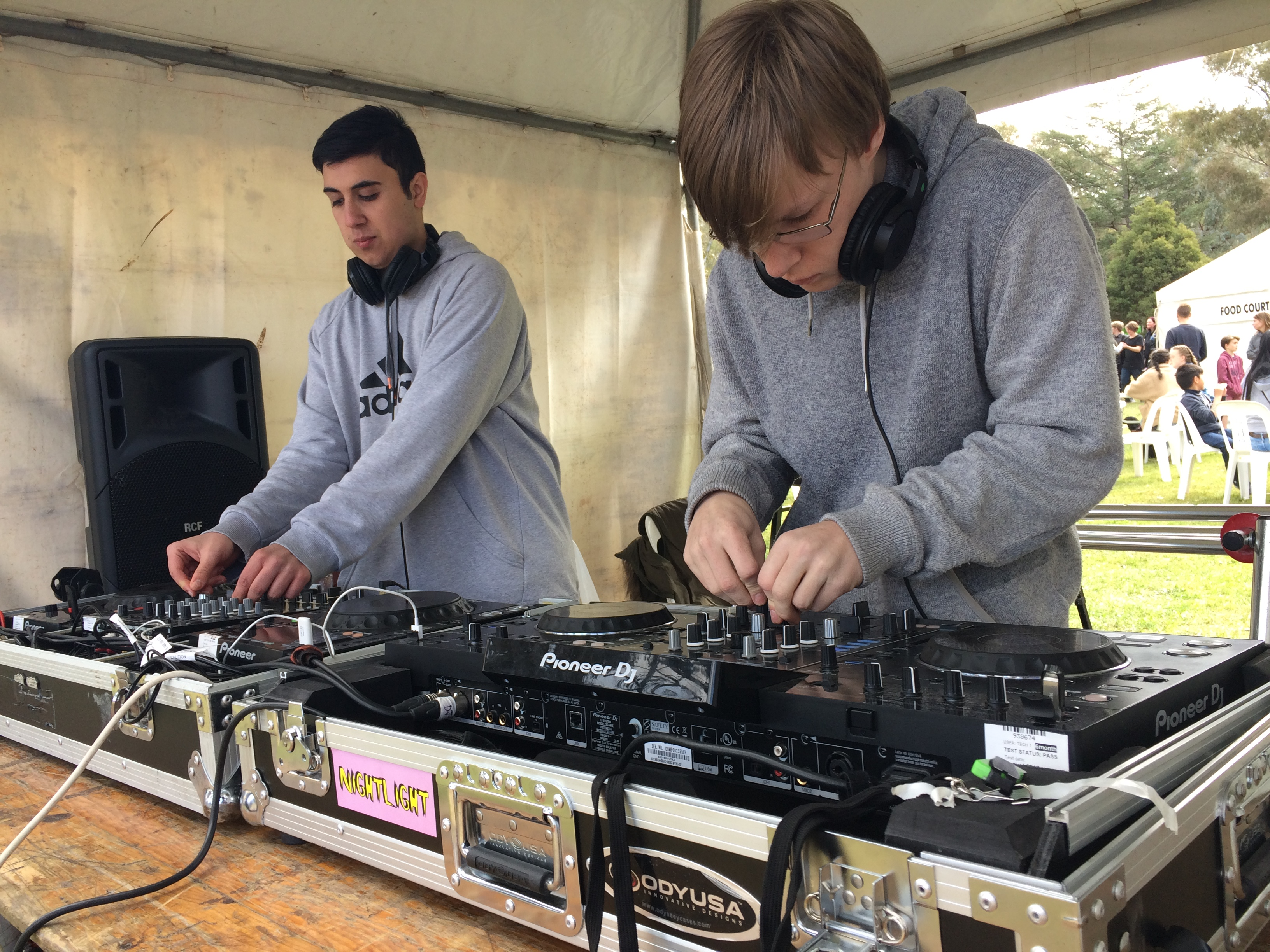 Jump behind the decks and DJ some of Council's events for some real life DJ experience