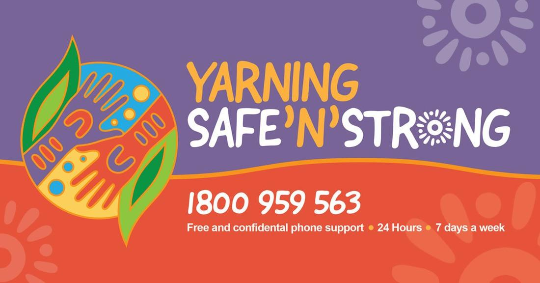 Yarning SafeNStrong helpline for Aboriginal & Torres Strait Islander Peoples