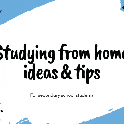 Studying from home ideas & Tips